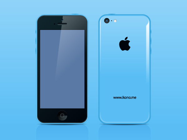 IPhone 5c by ikono.me