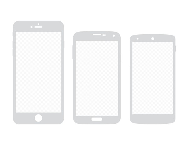Free Mobile Wireframes 1080x1920 by Ikono.me