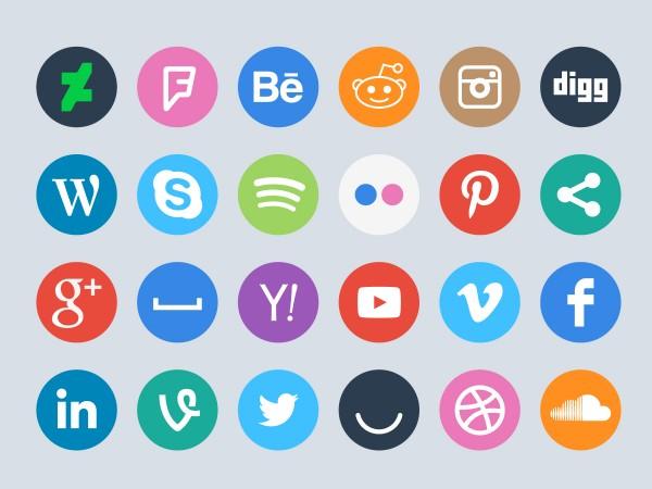 60 Free Social Circles Ikonome
