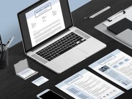 Pro Resume 1 - Desktop Layout