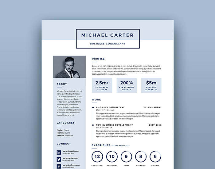 Creatives Resume Template Design Wwwikonome