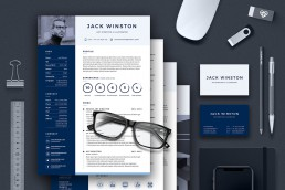 Pro Resume 3 Template Set