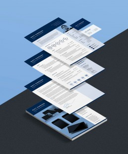PRO Resume 2 Resume Template Set
